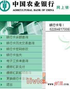 农行查银行卡余额_农行卡余额查询,如何登录中国农业银行卡网上余额查询的方法 ...